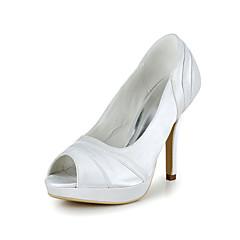 Women's Wedding Shoes Heels/Peep Toe Heels Wedding Purple/Red/Ivory/White/Gold