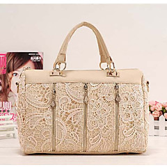MIQIANLIN Fashion Korean PU Lederband Schultertasche / Messenger Bag (Almond)