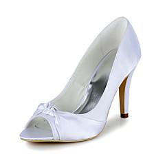 Damen Hochzeitsschuhe Absätze/Zehenfrei High Heels Hochzeit Blau/Lila/Rot/Elfenbein/Weiß/Gold
