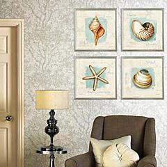 Stillleben Gerahmtes Leinenbild / Gerahmtes Set Wall Art,PVC Champagner Kein Passpartout Mit Feld Wall Art