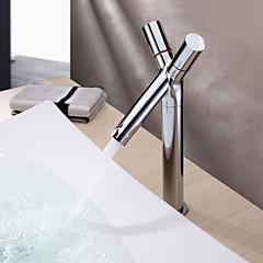 Moderne Centersat To Håndtag et hul in Krom Håndvasken vandhane