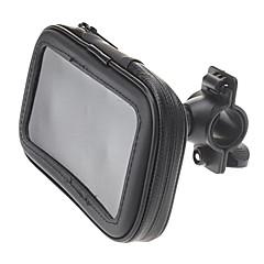 Full Body asia, jossa läpinäkyvä etuosa Suunniteltu Polkupyörien etuputkesta Mount Holder iPhone / Samsung