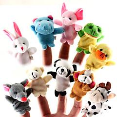 Fingerpuppe Tier Zeichentrick Model & Building Toy Jungen / Mädchen Gewebe