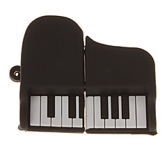 16G Mini Piano Shaped USB Flash Drive