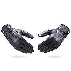 Wrist Length Fingertips Glove Leather Party/ Evening Gloves Winter Gloves General Purposes & Work Gloves Spring Fall Winter