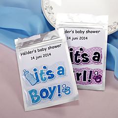 Party laskavosti a dárky Krabice na výslužky Klasický motiv EVA Lila/Modrá Přizpůsobeno