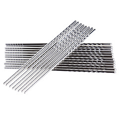 5 Pairs Skridsikker Stainless Steel Chinese Chopstick