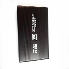 "USB3.0 2,5 ""high speed harddisk sag kabinet sort"