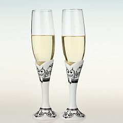 Свадебные бокалы для тостов, с узорами