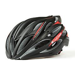 CoolChange 23 פתחי אוורור סופר אור האדום EPS אופניים מגן קסדה