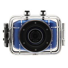 מצלמה בסגנון / מצלמת פעולה 3MP 2592 x 1944 עמיד במים / נוח / הכל באחד 4X 1.5 CMOS 32 GB H.264טיפוס הרים / אוניברסלי / צלילה / אופנייים /