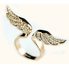 Ring Casual Jewelry Alloy / Zircon Statement RingsAdjustable Gold