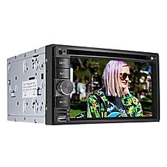 """6.2 """"2 DIN LCD dotykový displej v palubní desce auta DVD přehrávač s Bluetooth, GPS ipod, hry, stereo rádio, ATV"""