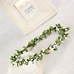Dame / Blomsterpige Silke Headpiece-Bryllup / Spesiell Leilighet Kranser