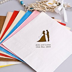 The Icon Color Personalized Napkins-100 Sets (More Colors)