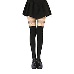 Socks/Stockings Sweet Lolita Lolita Lolita Lolita Accessories Stockings Print For Polyester