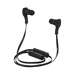 סטריאו צווארון v3.0 אוזניות Bluetooth האלחוטי עם מיקרופון ספורט עבור iPhone 6 / iphone 6 תוספת (שחור)