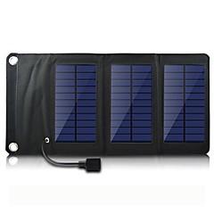 USB 5V Ausgangs portable& Klappsolarladegerät für iphone6 / 6plus / 5s samsung S4 / 5 htc und andere mobile Geräte