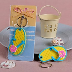Plast Nyckelrings Favors Piece / Set Nyckelband Beach Theme Ej personlig