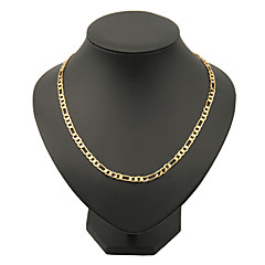 18K Gold Filled Figaro Chain For Men 4Mm,18 Inches /24 Inches Jewelry Christmas Gifts