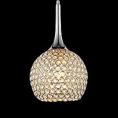 60W Kronleuchter ,  Zeitgenössisch Chrom Feature for Kristall Metall Wohnzimmer