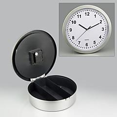 versteckt Safe Wanduhr Uhr Geheimnis sicher 25x6.8x2cm