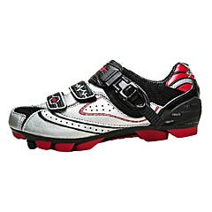 SANTIC Sapatos para Ciclismo Tênis para Mountain Bike Homens Anti-Escorregar Secagem Rápida Respirável Ultra Leve (UL)Bicicleta De