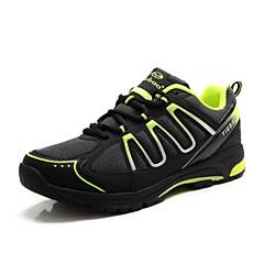 Tiebao Sapatos para Ciclismo Homens Mulheres Unisexo Anti-Escorregar Ventilação Massagem Ao ar Livre Bicicleta De MontanhaPele PVC Malha