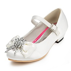 Girls' Shoes Comfort Chunky Heel Wedding Pumps/Heels with Bowknot Shoes More Colors available