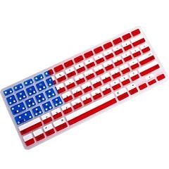 """coosbo® USA Flag silikone tastatur dække huden til 11,6 """", 13,3"""", 15,4 """", 17"""" MacBook Air pro / nethinden"""