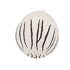 24のハロウィーン大きな白い斑点バルーン装飾セット
