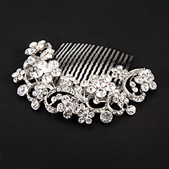 Women's Alloy Headpiece-Wedding / Special Occasion Hair Combs / Flowers