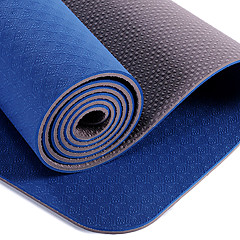 Professional Yoga Mat Tpe Long Padded 7Mm Three Piece Yoga Mat Yoga Mats Non-Slip