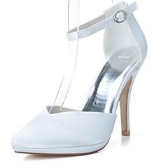 Damenschuhe Heels Spitzschuh Pfennigabsatz Pumpen Hochzeit Schuhe weitere Farben erhältlich