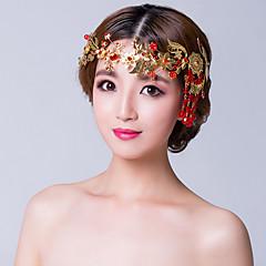 Femme Alliage Zircon Casque-Mariage Occasion spéciale Chaîne pour Cheveux