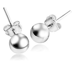 Women's Light bead Stud Earrings