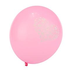 extra grote maat roze dikke hart gebroken ronde ballonnen - set van 24