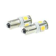 BA9S Motocicleta Carro Caminhões e Reboques Branco Quente 2.5W SMD LED LED de Alta Performance 3000-3500Luz de Matricula Luz de Marcador