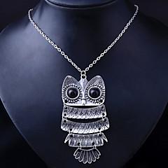 Women's Alloy Retro Owl Necklace