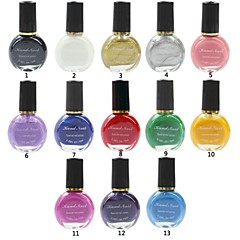 1Pcs Professional Printing/Stamping Nail Polish(10ml/pc,Assorted Colors)