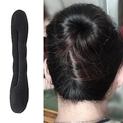 1 peça laço de cabelo coreano para fazer tranças no cabelo