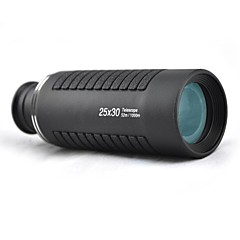 Visionking® 25x 30 mm Monokulár Nemlží / High Powered 110ft/1000yds Běžný Černá