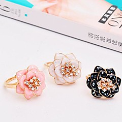 Ring Ladies' Rhinestone Alloy Alloy One Size BlackColor & Style representation may vary by monitor. Not responsible for typographical or