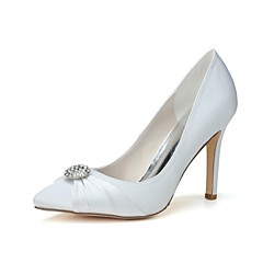 Women's Wedding Shoes Heels/Pointed Toe Heels Wedding/Party & Evening Black/Blue/Pink/Purple/Red/Ivory/White/Silver/Champagne