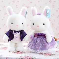 Plüschtiere Neuheiten - Spielsachen Neuartige Rabbit Plüsch Weiß Für Jungen / Für Mädchen