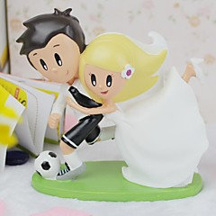Cake Topper Classic Couple Resin Wedding / Bridal Shower Asian Theme Gift Box