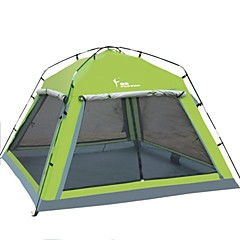 "FlyTop® 2 אנשים אוהל משולש חדר אחד קמפינג אוהל 1500-2000 מ""מ אוקספורדעמיד למים נשימה עמיד אולטרה סגול ייבוש מהיר מוגן מגשם נגד חרקים עמיד"