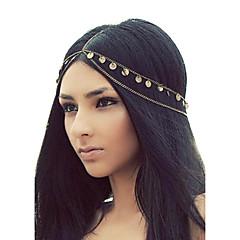 shixin® europese kwastjes gouden legering hoofdbanden voor vrouwen (1 st)
