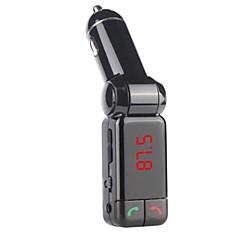 bluetooth dual USB autós töltő aux-in FM transmitter hansfree mikrofonnal az iPhone 6 6 plus 5S 4S és mások