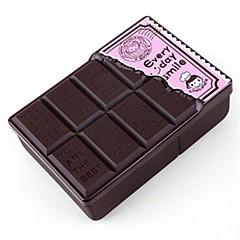 chokolade form plast madpakke, plast 17,5 × 12 × 6 cm (6,9 × 4,8 × 2,4 tommer) tilfældig farve